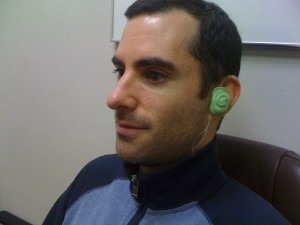 Ear Mold for Custom Fit Earplugs