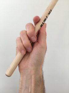 Lateral Palm Drum Stick Placement