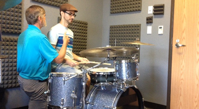 Getting Alexander Technique direction from AT Teacher Doug Shenefield