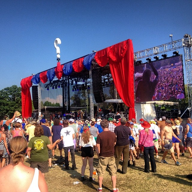 Which Stage Bonnaroo 2014