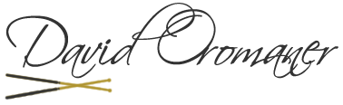 David O. drummer, teacher, composer Logo