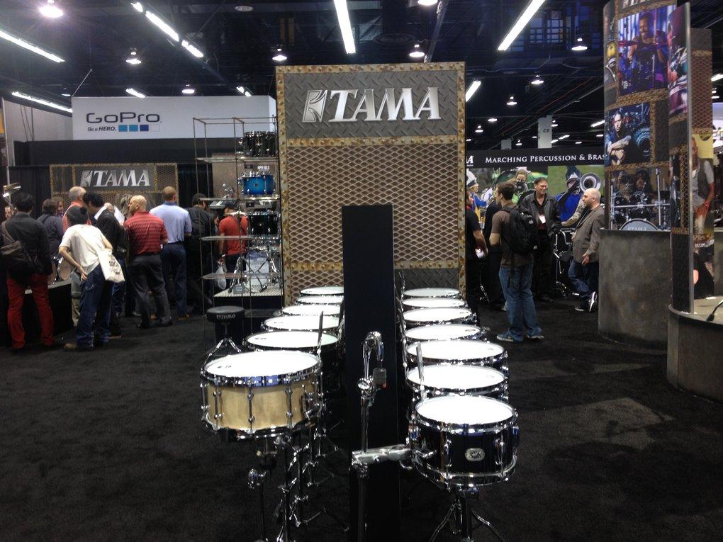 TAMA Snare Drums NAMM 2015