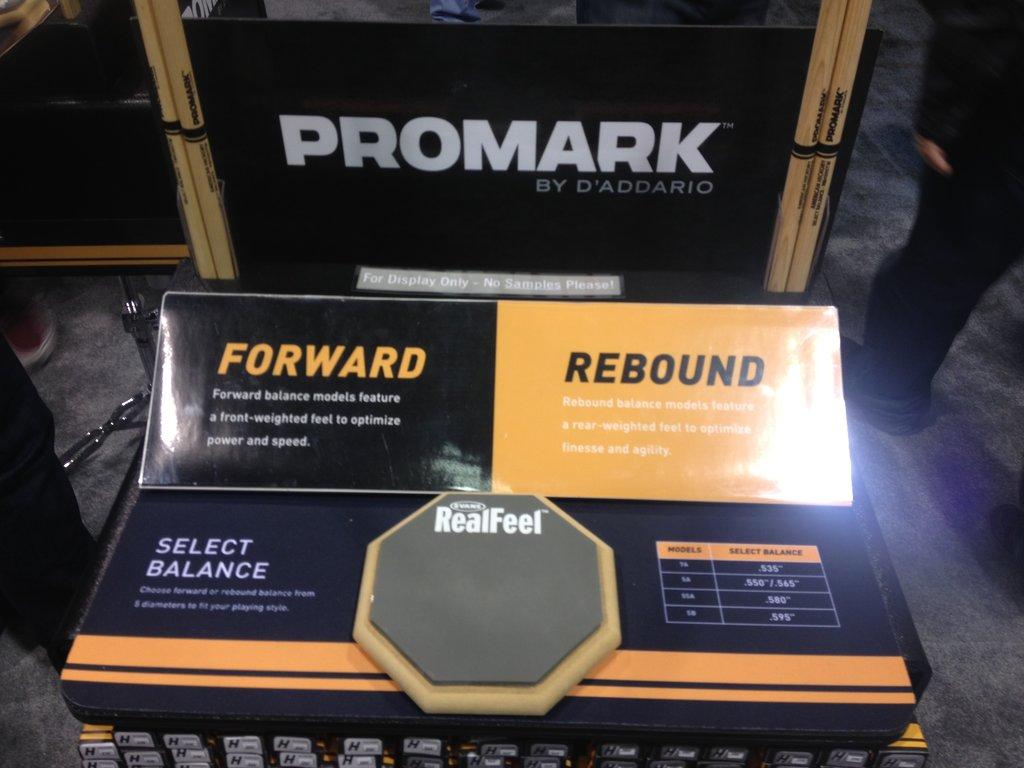 Promark Rebound Control Display