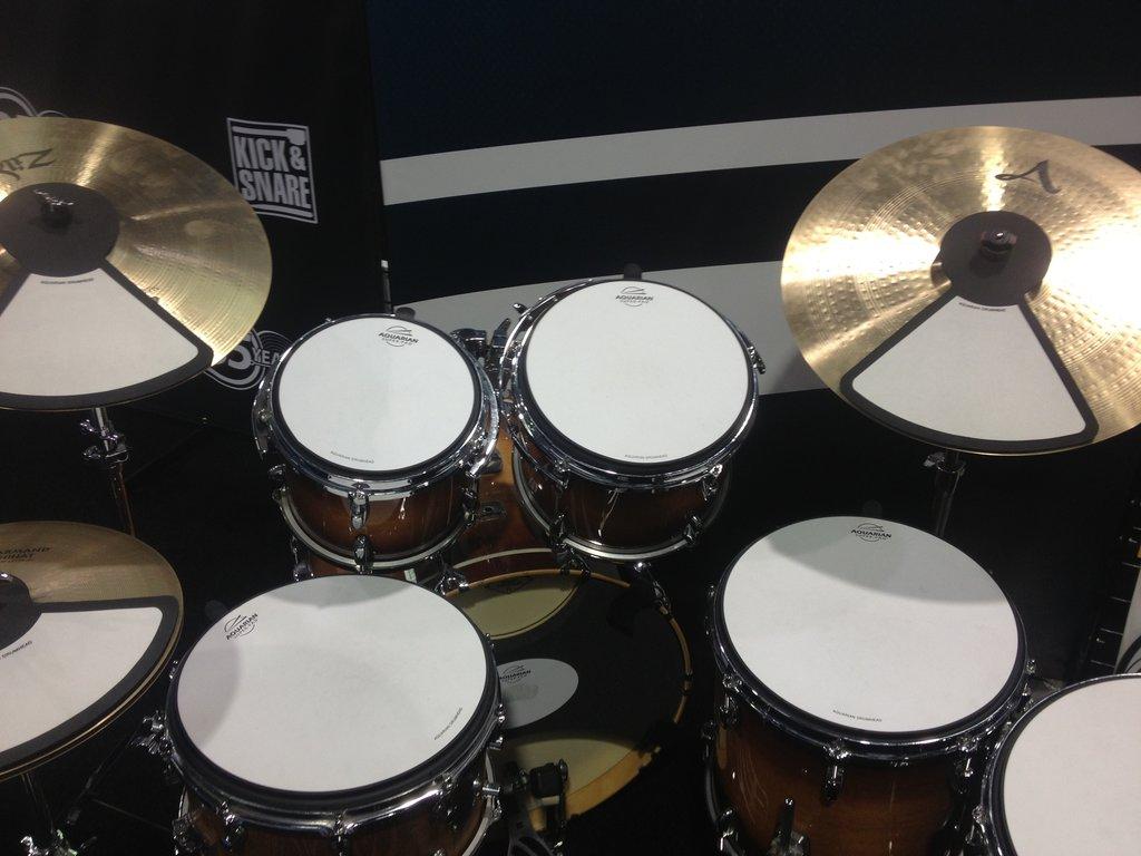 Aquarian Drum Pads NAMM 2015