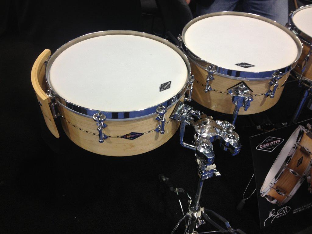 Craviotto Drums - Timbales NAMM 2015