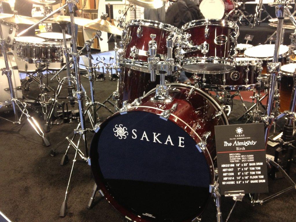 Sakae Birch Drum Kit NAMM 2015