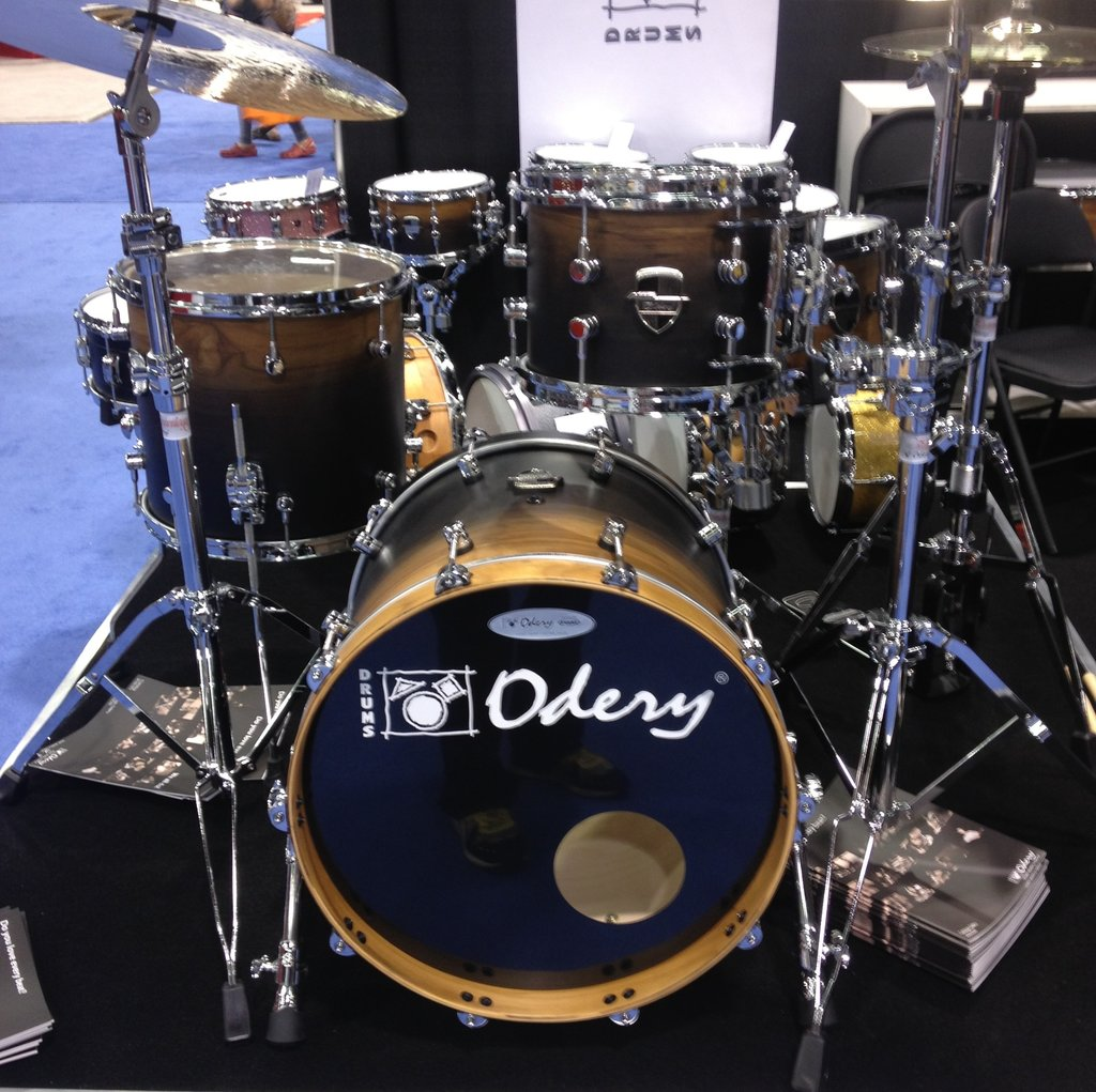 Odery Drums NAMM 2015