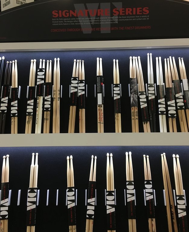 Vic Firth New Sleeve at NAMM 2016