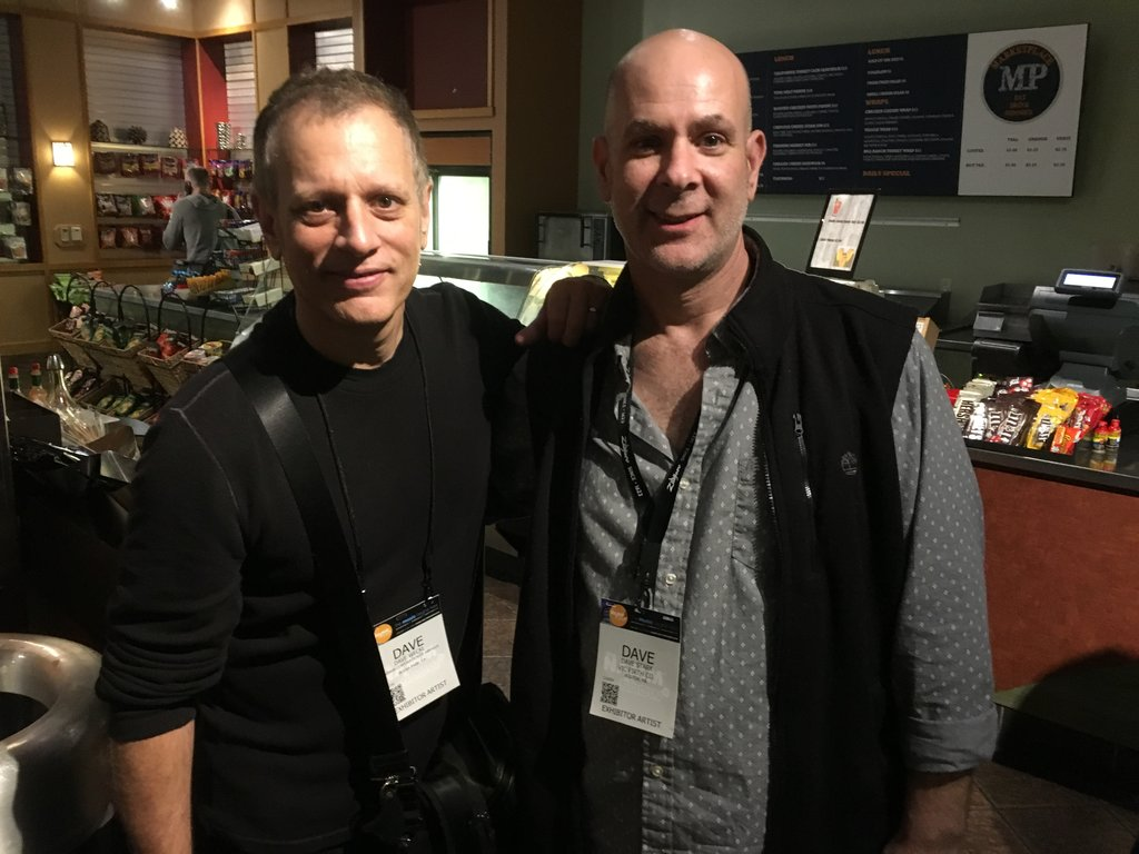 Dave Stark with Dave Weckl